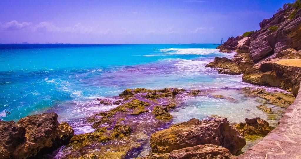 Exploring Isla Mujeres ocean views